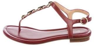 MICHAEL Michael Kors Embellished Leather Sandals