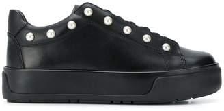 Twin-Set pearl stud platform sneakers