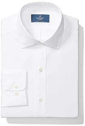 Buttoned Down Men's Classic Fit Spread-Collar Solid Non-Iron Dress Shirt