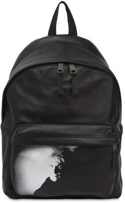 Eastpak 24l Andy Warhol Padded Leather Backpack