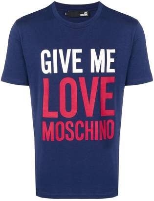 Love Moschino Give Me Love T-shirt