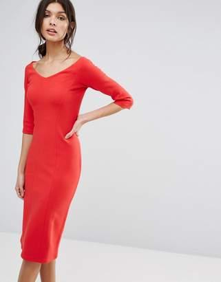 Reiss Aimee Jersey Off The Shoulder Dress