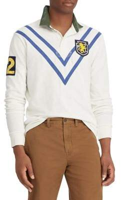 Polo Ralph Lauren Classic Fit Patchwork Rugby Shirt