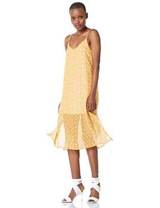 Elise Bloom Women's Boho Floral Prints Beach Sling Dress Long Dress