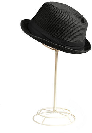 Scala Paper Braid Fedora Hat
