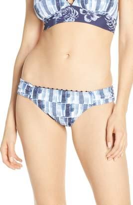 Tommy Bahama Chambray Blossom Reversible Bikini Bottoms