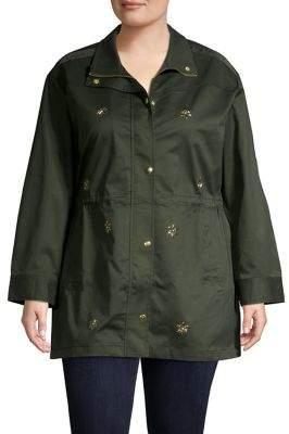 Rafaella Plus Twill Jacket
