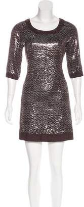 Tory Burch Silk Embellished Dress