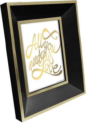 "Isaac Mizrahi 5"" x 7"" Gold-Tone Trim Picture Frame"