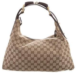 Gucci GG Medium Horsebit Hobo