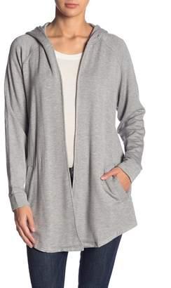Kensie Open Front Fleece Jacket