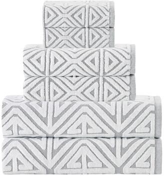 Enchante Glamour 6Pc Towel Set