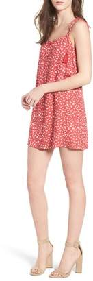 Lush Button Down Minidress