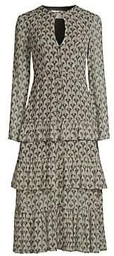 Alexis Women's Junino Tiered Ruffle Printed A-Line Dress