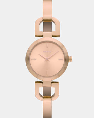 DKNY Reade Rose Gold -Tone Analogue Watch