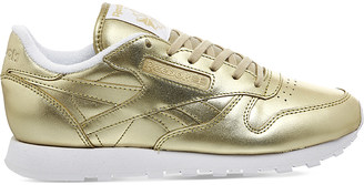 REEBOK Classic leather trainers $63 thestylecure.com