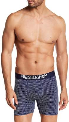 Nick Graham Fashion Basics Dot Boxer Brief