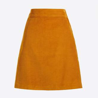 J.Crew Factory Mini skirt in corduroy