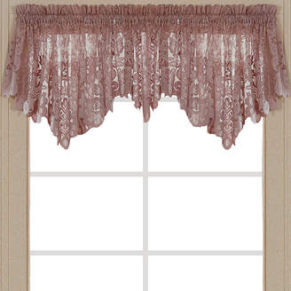 JCPenney JCP HOME HomeTM Shari Lace Rod-Pocket Ascot Valance