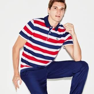Lacoste Men's SPORT Striped Tennis Polo