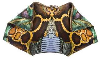 Alexander Wang Printed Butterfly Clutch