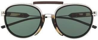 Calvin Klein aviator shaped sunglasses