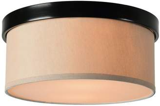 Kenroy Home 93624ORB Paige 2 Light Flush Mount - Oil Rubbed Bronze Finish