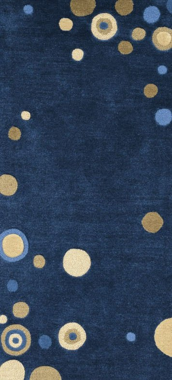 angela adams Islands Midnight rugs