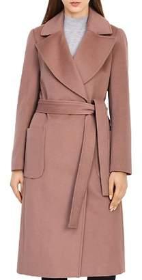 Reiss Faris Belted Wool Coat