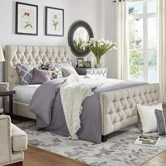 Three Posts Allison King Upholstered Panel Bed