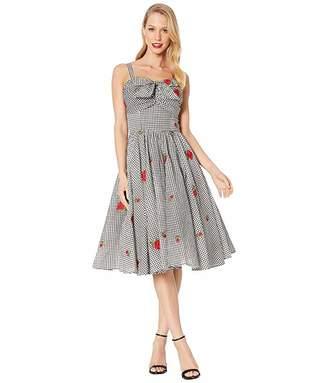 Unique Vintage 1950s Golightly Swing Dress