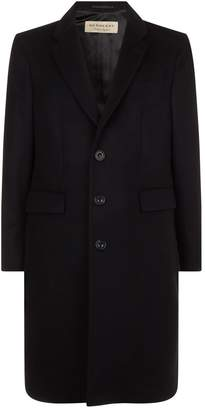 Burberry Wool-Cashmere Tailored Coat