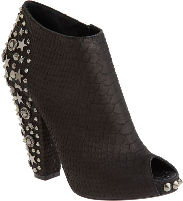 Givenchy Studded Bootie - Black