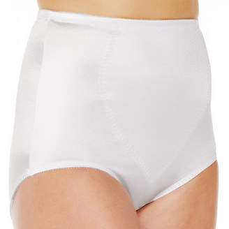 JCPenney Underscore Plus Rainbow Stretch Satin Tummy Panel Light Control Briefs 123-3905