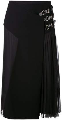 Lanvin pleated midi skirt