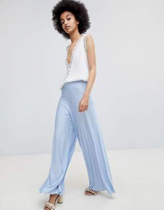 Asos Design DESIGN Wide Leg Pleated Pants