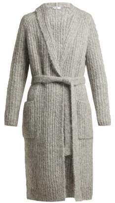 Max Mara Zac Cardigan - Womens - Light Grey