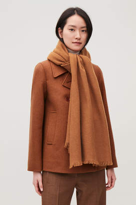 Cos OVERSIZED WOOL SCARF