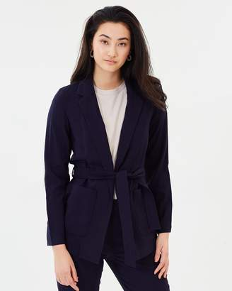 Vero Moda Vmelke Long Sleeve Tie Blazer