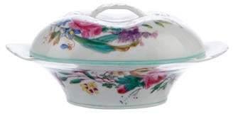 Haviland Porcelain Floral Butter Dish