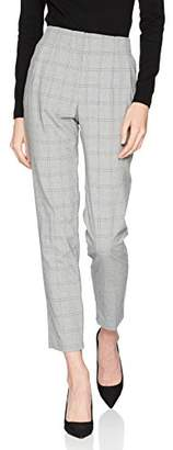 Wallis Women's Check Trousers, (Size: 10)