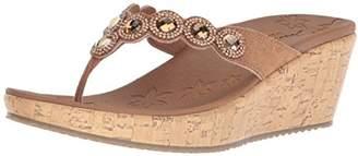 Skechers Cali Women's Beverlee-Bizzy Babe Wedge Sandal