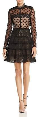 Isabella Collection BRONX AND BANCO Illusion Dress