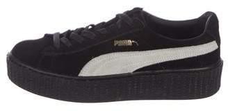 63ab3d4c04d1 FENTY PUMA by Rihanna Suede Platform Sneakers