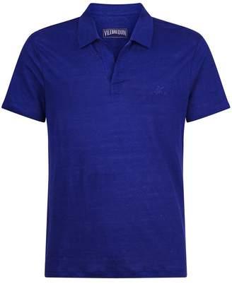 Vilebrequin Linen Polo Shirt