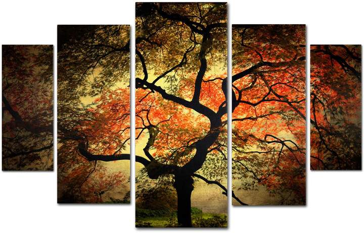 Japanese Wall Art Set of 5