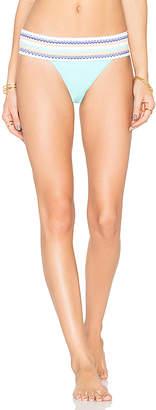 Sauvage Banded Rio Bikini Bottom