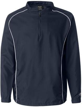 Rawlings Sports Accessories 1⁄4 Zip Dobby Pullover, M