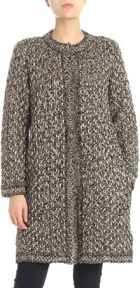 Missoni Embroidered Fitted Coat