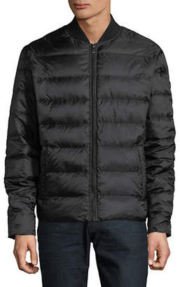 Michael Kors Quilted Bomber Jacket